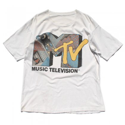 古着 通販 【MTV】ヴィンテージ T シャツ【1991s-】3D プリント