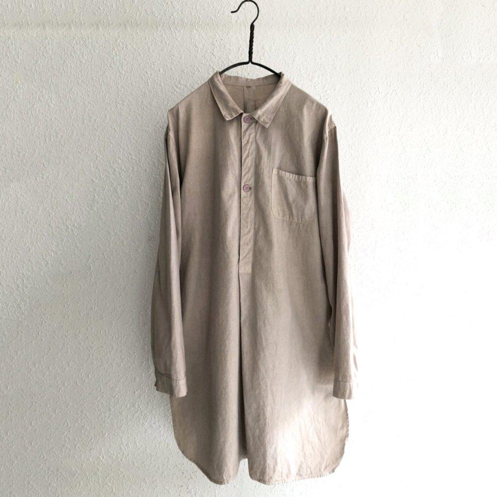 古着 通販 スウェーデン軍 プルオーバーシャツ【pimpstick×西染】【Swedish Army】【M55 Type】Handdyed Long Pullover Shirt