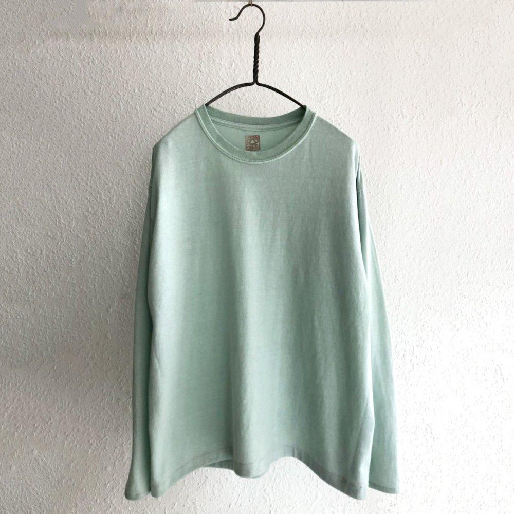 古着 通販 ロングスリーブ T シャツ【pimpstick×西染】Handdyed Remake Long Sleeve T-Shirt