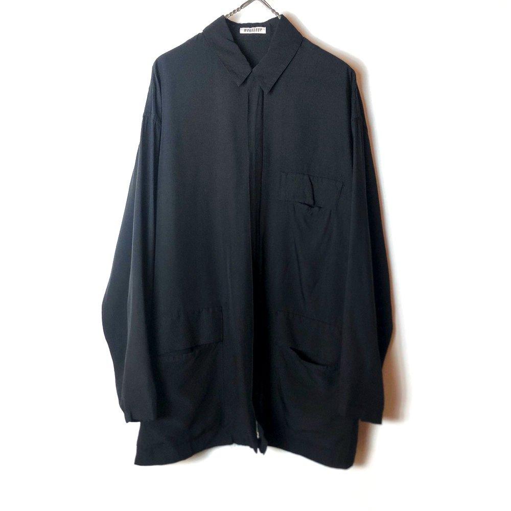 古着 通販 ヴィンテージ レーヨン シャツジャケット【1980's】Vintage Rayon Zip Up Blouson