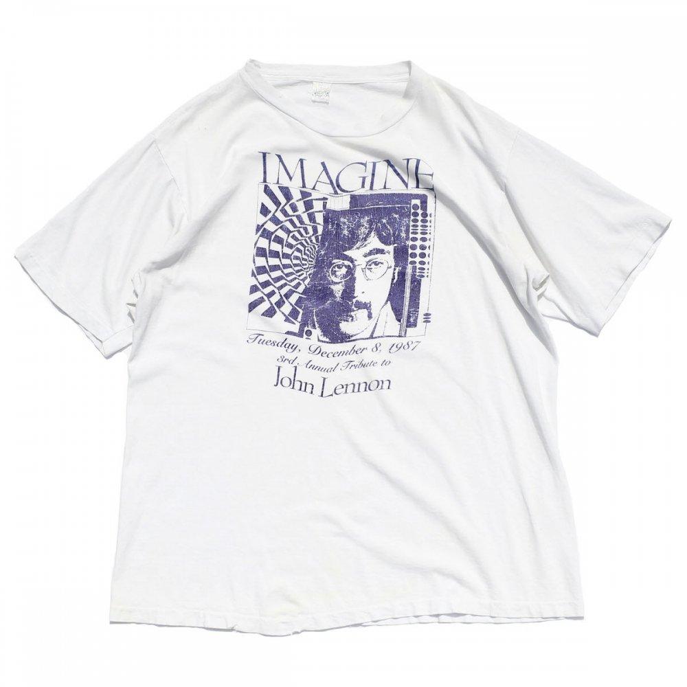 古着 通販 ジョン レノン【John Lennon】ヴィンテージ T シャツ イマジン【imagine】【1980's-】