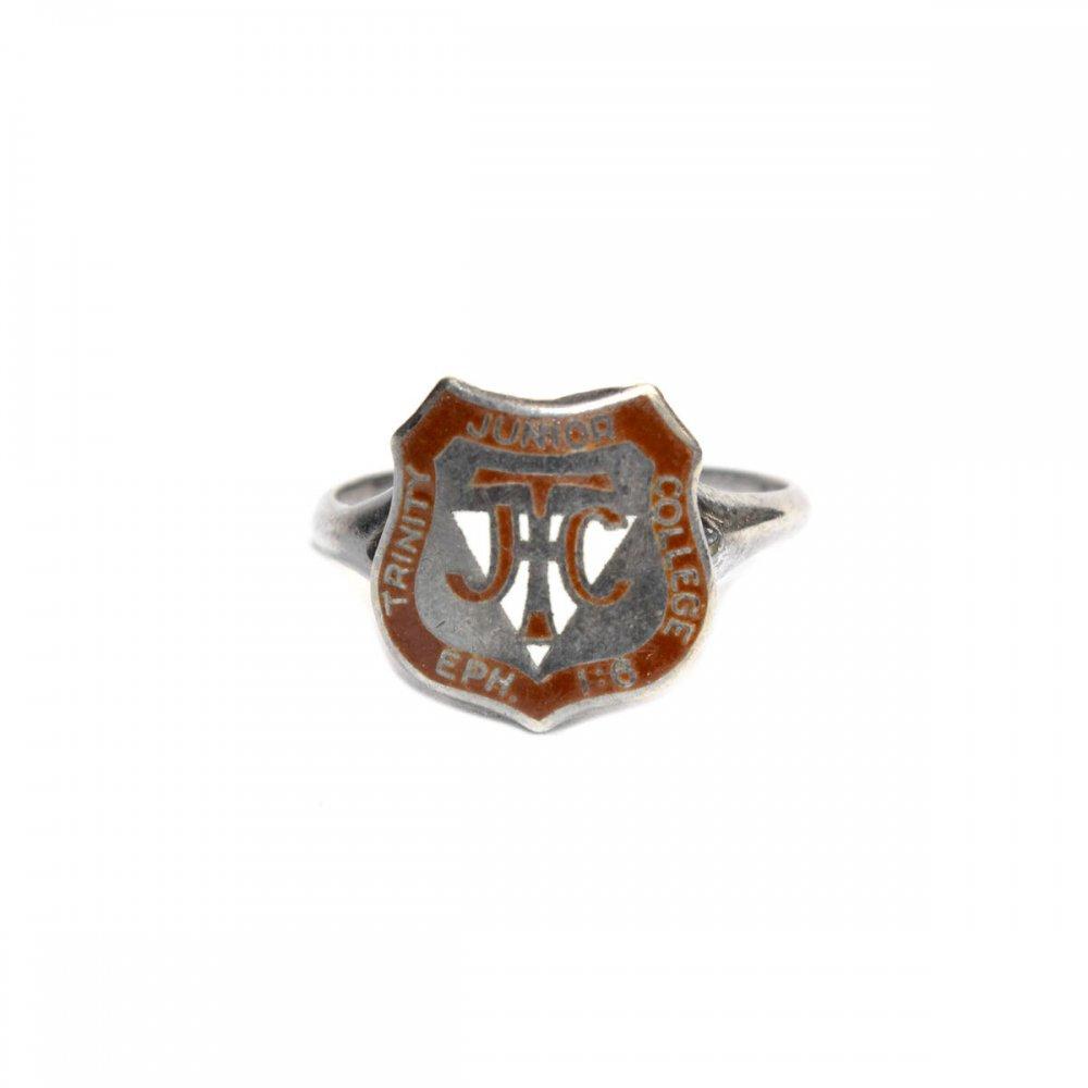 古着 通販 ヴィンテージ カレッジリング【STERLING】【1930s-】SLV Emblem