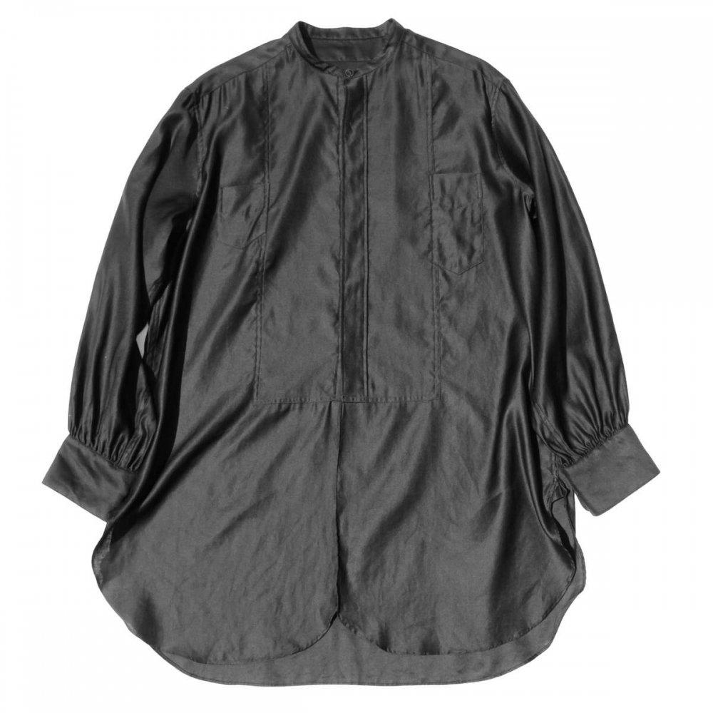 古着 通販 ピンプスティック【pimpstick】カラーレス ロング シャツ