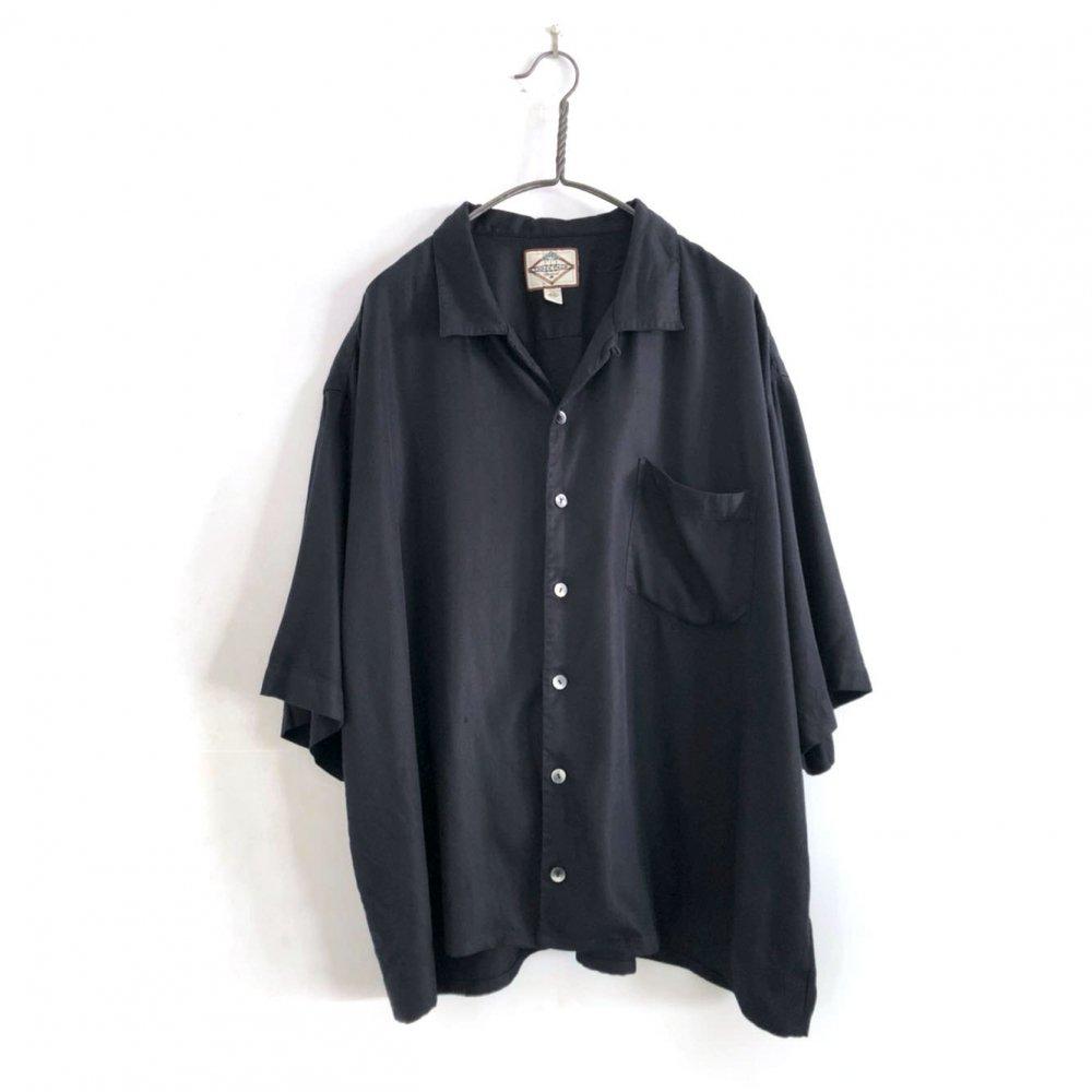 古着 通販 ヴィンテージ S/S シルクシャツ【1980s】【THREE PALM】Vintage Silk Shirt