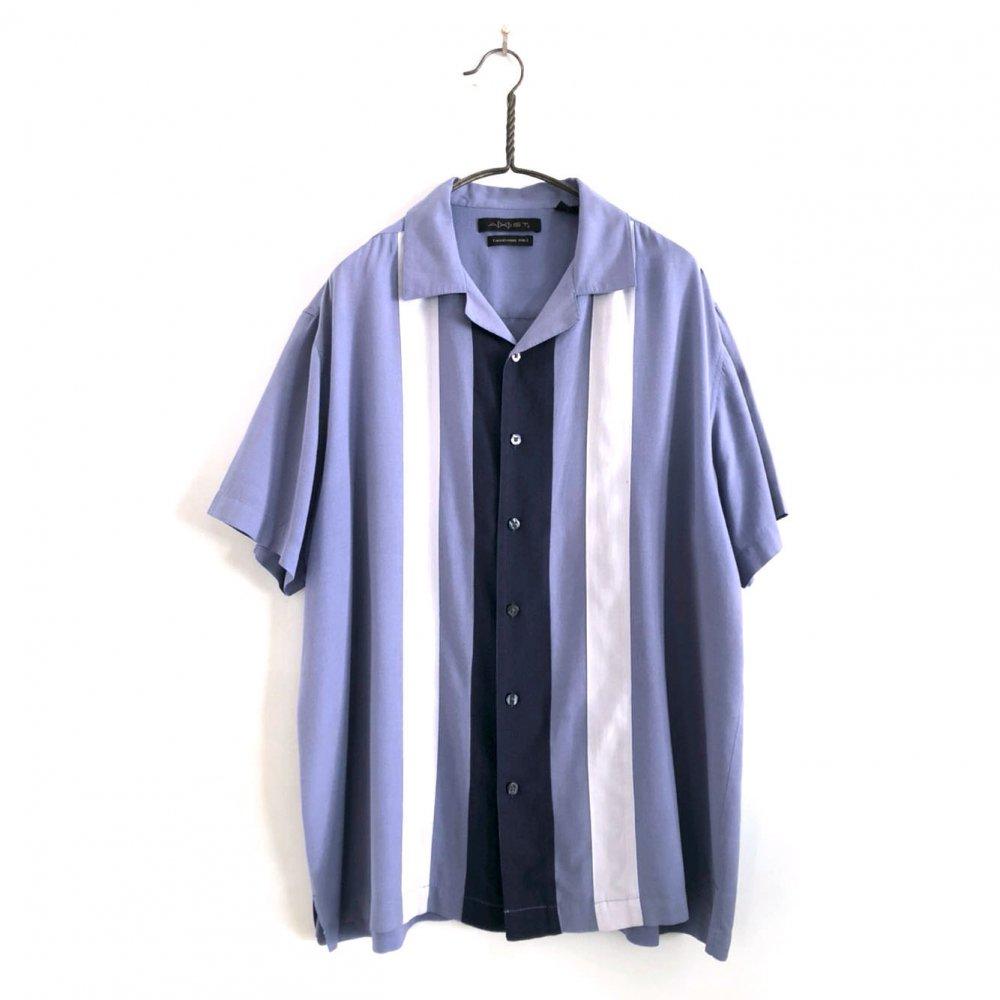 古着 通販 ヴィンテージ S/S オープンカラー シルクシャツ【1980s】【AXIST】Vintage Silk Shirt
