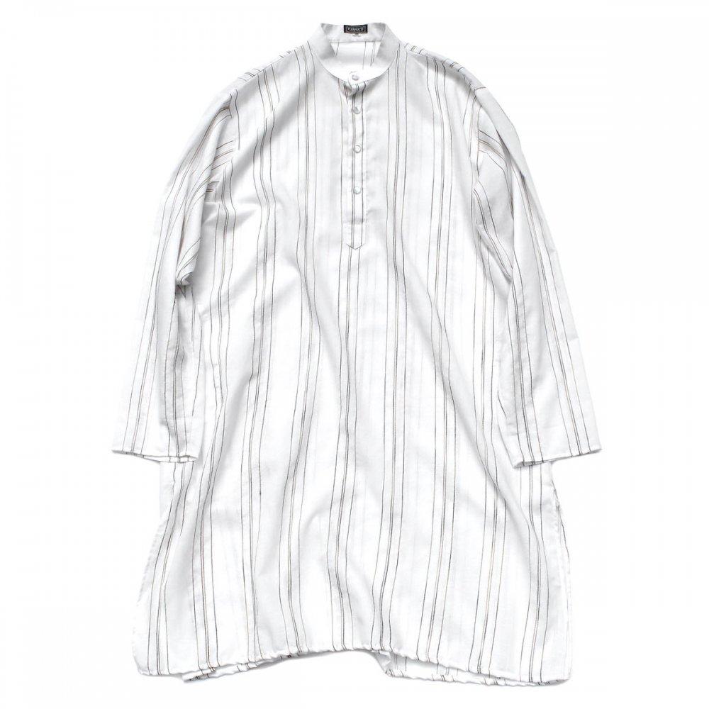 古着 通販 ヴィンテージ L/S プルオーバー ロング シャツ【PATWA'S】India Cotton