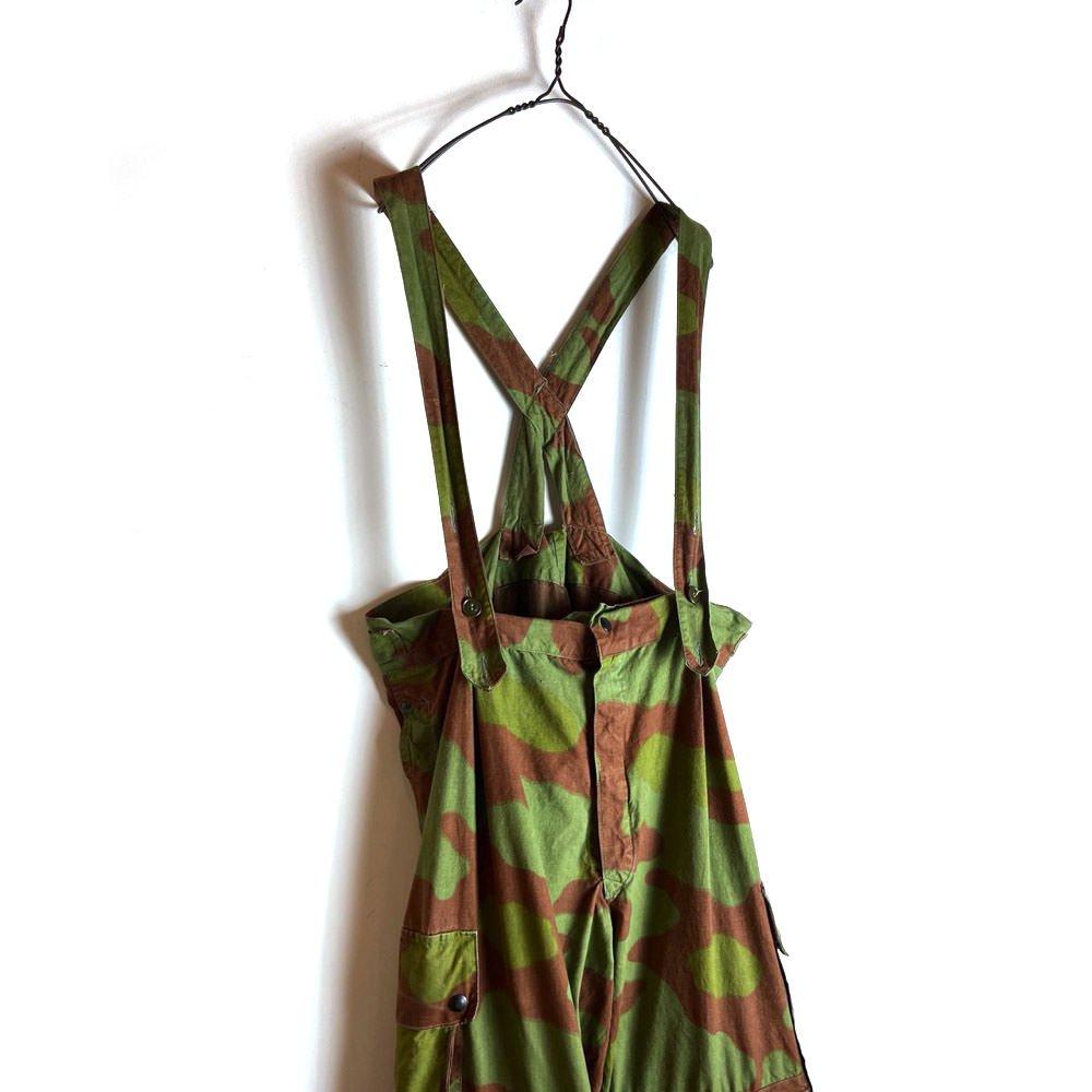 古着 通販 ヴィンテージ イタリア軍 オーバーパンツ 【1960's】【Italian Army】Vintage Camouflage Over Pants