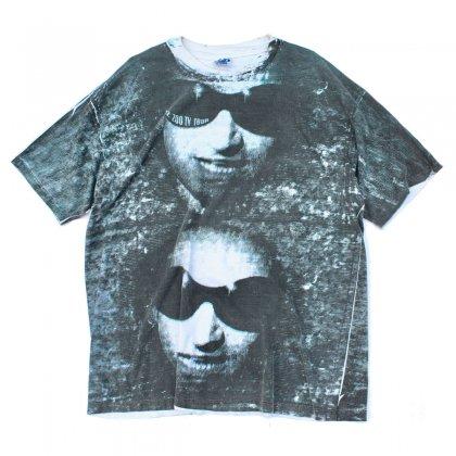 古着 通販 【U2】ヴィンテージ T シャツ【ZOO TV Tour】【1992s-】Allover Print