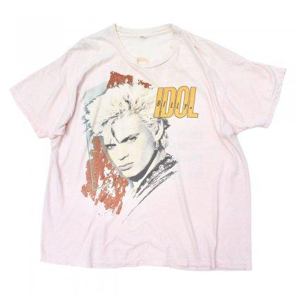 古着 通販 ビリー アイドル ヴィンテージ T シャツ【BILLY IDOL】【1987s-】【Whiplash Smile Tour】