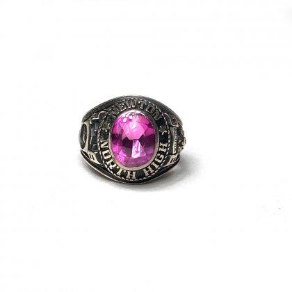 古着 通販 ヴィンテージ カレッジリング【1980s】【J.L.S STERLING】【North Newton High School】Vintage Class Ring