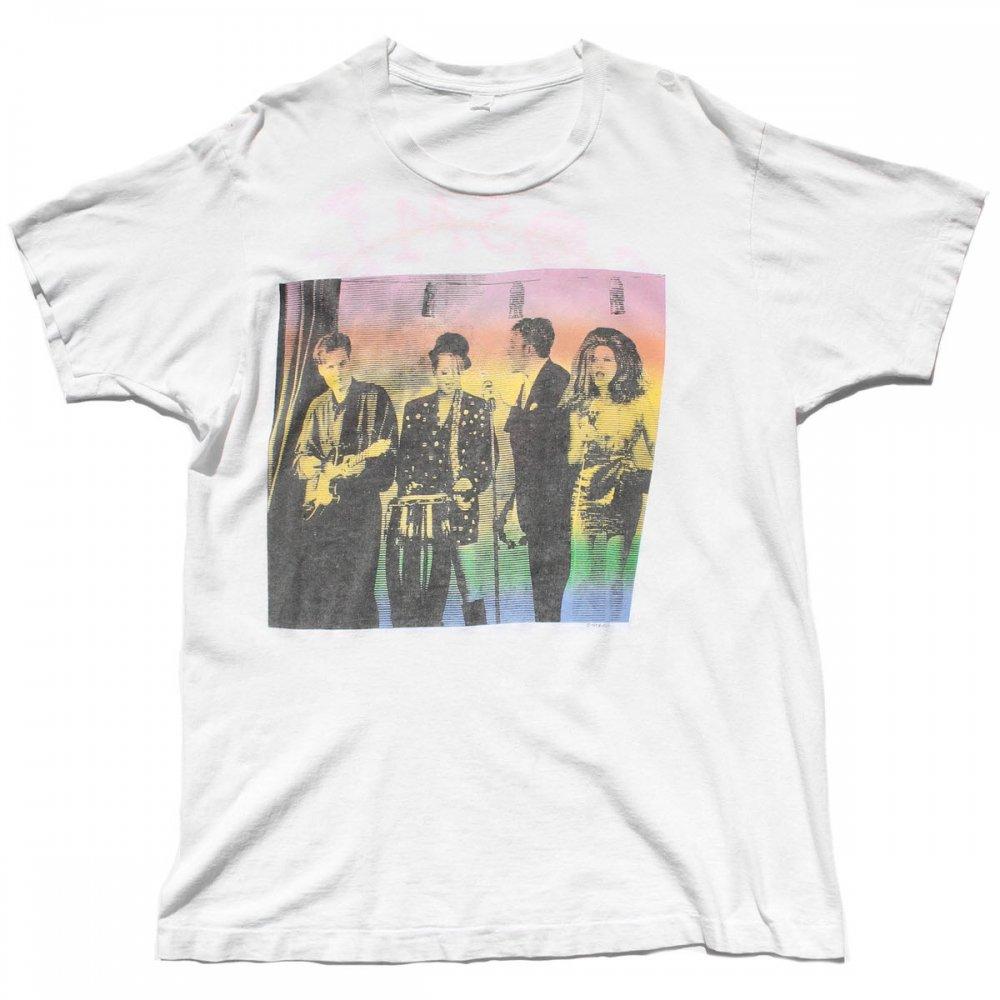古着 通販 【The B-52's】 ヴィンテージ T シャツ【1989s-】【Cosmic Thing Tour】WH
