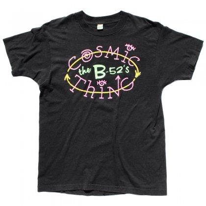 古着 通販 【The B-52's】 ヴィンテージ T シャツ【1989s-】【Cosmic Thing Tour】BK
