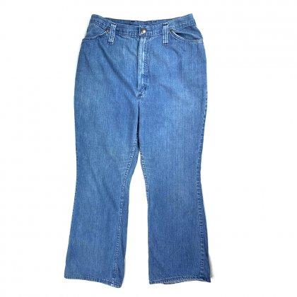 古着 通販 ラングラー ブーツカット ヴィンテージ デニムパンツ【1970s】【Wrangler】Vintage Denim Pants