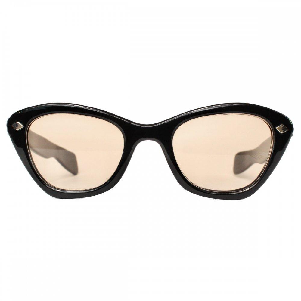 古着 通販 ヴィンテージ メガネ【Unknown Brand】【1960s-】Heavy Frame Cats eye, Oval