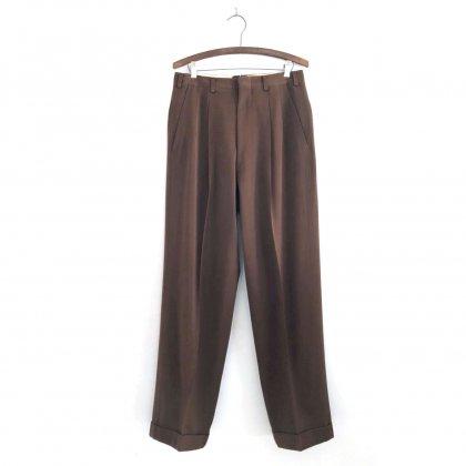 古着 通販 ヴィンテージ ギャバジン トラウザーズ【1950s】Vintage 2-tuck Gabardine Trouser