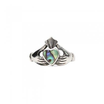古着 通販 ヴィンテージ クラダーリング【925 × Shell Top】Vintage Claddagh Ring
