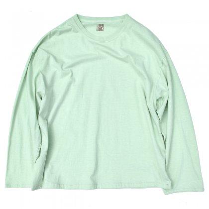 古着 通販 【pimpstick×西染】ロングスリーブ T シャツ Celadon XL