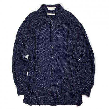 古着 通販 ヴィンテージ L/S レーヨンシャツ【1980s】【Italy Fabric】【PERRY ELLIS】Vintage Long Sleeve Rayon Shirts