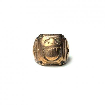 古着 通販 ヴィンテージ カレッジリング【1935s】【BALFOUR Gold】Vintage Class Ring