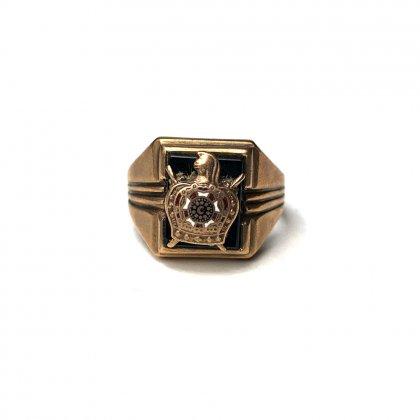 古着 通販 ヴィンテージ フリーメイソン リング【Order of DeMolay】【1940s-】【10Kt Gold】Vintage Freemasonry Ring