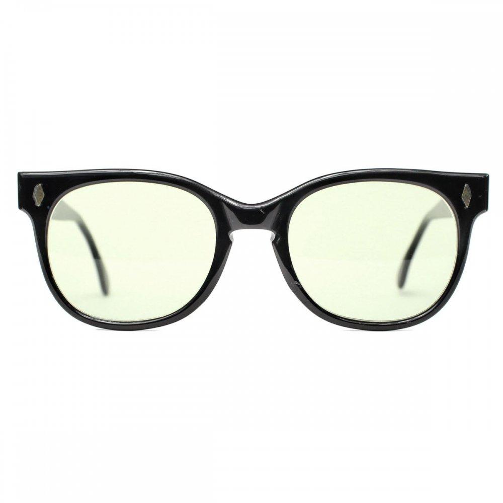 古着 通販 ヴィンテージ メガネ【Foremost Optical】【1960's-】エボニー ホーンリム 52-24