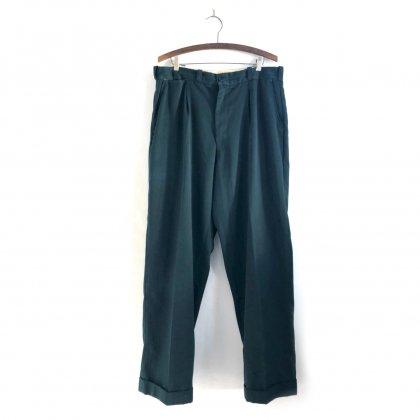 古着 通販 ヴィンテージ ギャバジン トラウザーズ【1950s】Vintage Tuck Gabardine Trouser