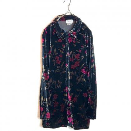 古着 通販 ヴィンテージ ベロア シャツ【Style & CO. Collection】【1980's】Vintage Long Sleeve Velour Shirts