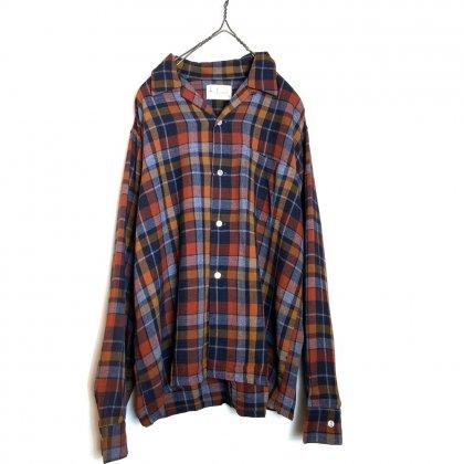 古着 通販 ヴィンテージ  レーヨン チェックシャツ【m&f】【1960's】Vintage Rayon Check Shirts