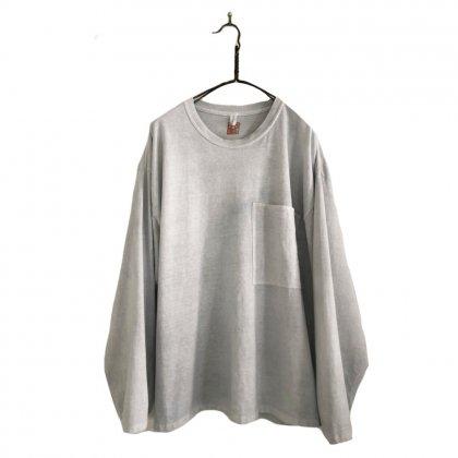 古着 通販 ロングスリーブ ポケット T シャツ【pimpstick×西染】Handdyed Remake L/S Pocket T-Shirt