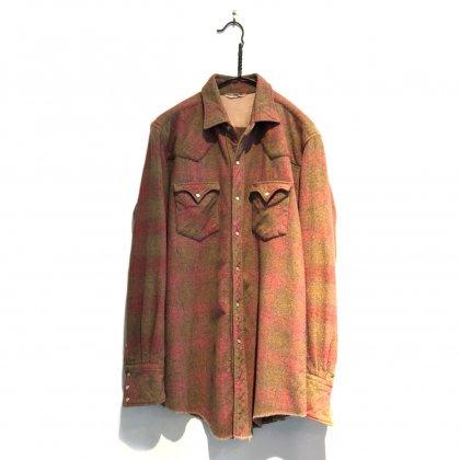 古着 通販 ヴィンテージ ウール ウエスタンシャツ【1960s】Vintage Wool Western Shirt