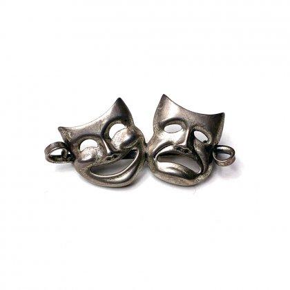 古着 通販 ヴィンテージ トゥーフェイス ピンズ【2 Face - Sterling】vintage Silver Pins