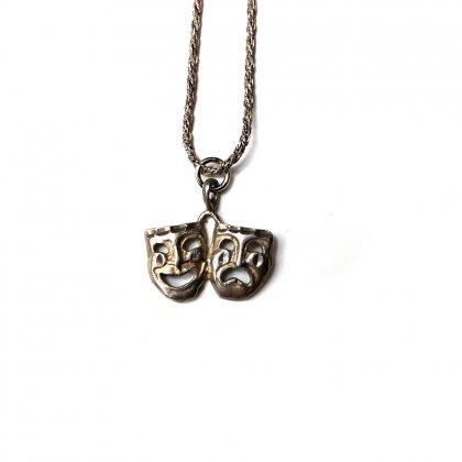 古着 通販 ヴィンテージ トゥーフェイス ネックレス【2 Face - Sterling】Vintage Silver Necklace