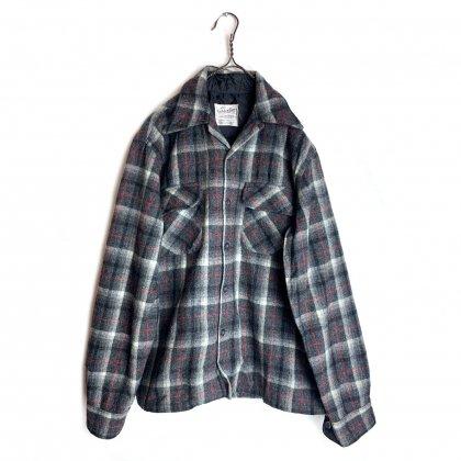 古着 通販 ヴィンテージ オープンカラー ウールシャツ【1970s】【Golden Line】Vintage Wool Shirts