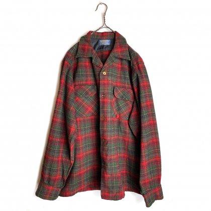 古着 通販 ペンドルトン ヴィンテージ オープンカラー ウールシャツ【PENDLETON】【1950's-】Vintage Wool Shirts