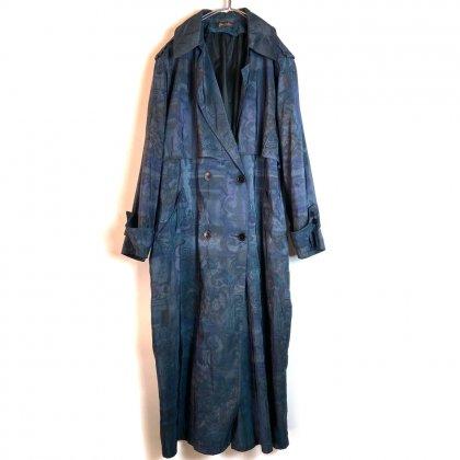 古着 通販 ヴィンテージ  オールプリント ロングコート【forecaster】【Trench Coat】Vintage All Print Coat