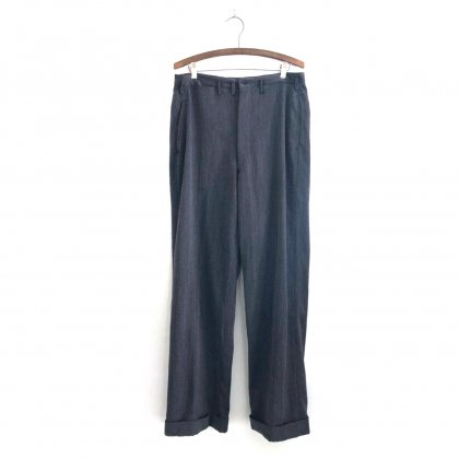 古着 通販 ヴィンテージ ギャバジン トラウザーズ【1950s】Vintage Wool Gabardine Trouser