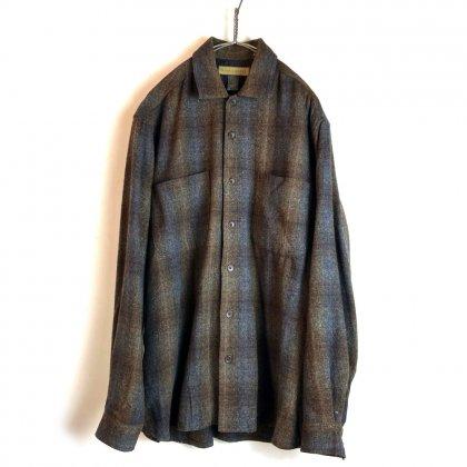 古着 通販 ヴィンテージ ロングスリーブ ウールシャツ【NATURALIFE】Vintage Wool Shirts