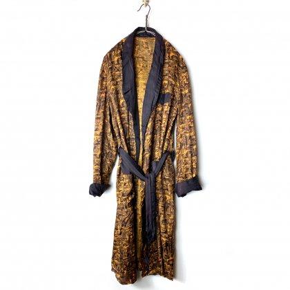 古着 通販 ヴィンテージ シルク ガウン【1950's】【VIVAAX】Vintage Silk Robe