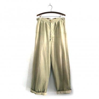 古着 通販 オーストラリア軍 ヴィンテージ チノパン【1950s】【Australian Army】Vintage Chino Trouser