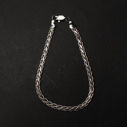 古着 通販 ヴィンテージ シルバー チェーン ブレスレット【925 STERLING Silver】 Two Snake Chain
