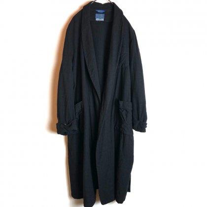 古着 通販 ヴィンテージ 後染め ブラック ガウン【PENDLETON】【1950's~】Vintage Over Dyed Gown