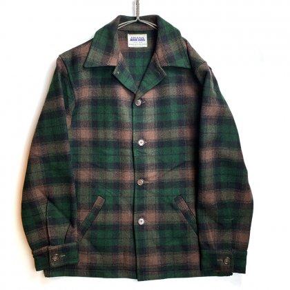 古着 通販 ヴィンテージ ウール ワーク シャツジャケット【AMANA】【1950's】Vintage Wool Shirts Jacket