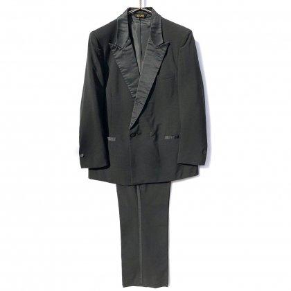 古着 通販 ピエール・カルダン【pierre cardin】ヴィンテージ ダブルブレスト タキシード スーツ セットアップ【1980's】Vintage Suits