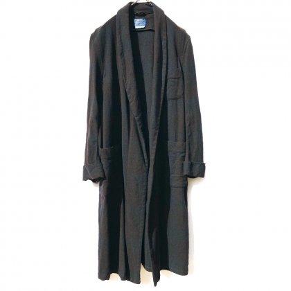 古着 通販 ヴィンテージ 後染め ブラック ガウン【PENDLETON】【1970's~】Vintage Over Dyed Gown