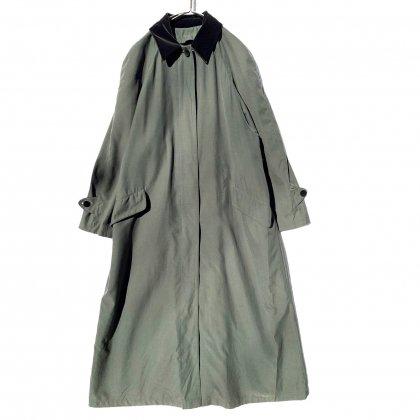 古着 通販 ヴィンテージ マキシ丈 ピーチスキン コート【1980s-】Vintage Peach Skin Maxi Length Coat