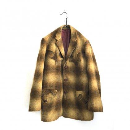 古着 通販 ヴィンテージ  ウエスタン ジャケット【50's~60's】Vintage Western Design Wool Jacket
