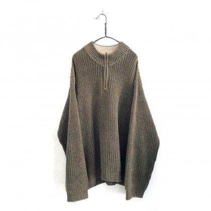古着 通販 ウーリッチ【WOOLRICH】ヴィンテージ ジップアップニット【1990's】Vintage Zip-Henry neck Sweater