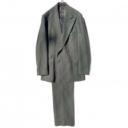 古着 通販 ラルフローレン【Ralph Lauren】ヴィンテージ ダブルブレスト スーツ セットアップ【1980's】Vintage Double Breasted Suits