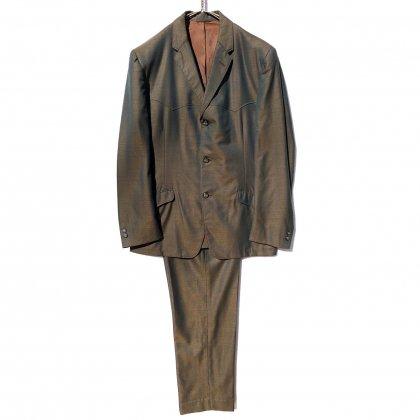 古着 通販 ヴィンテージ ウエスタンデザイン コンテンポラリー スーツ セットアップ【1960's】【Gross 100】Vintage Suits