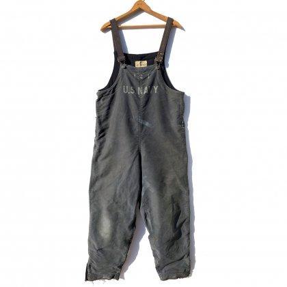 古着 通販 ヴィンテージ デッキパンツ オーバーオール【U.S. NAVY】【1940's~】Vintage Deck Pants